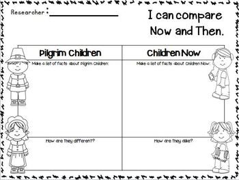 Thanksgiving Activities, Lessons, and Printables