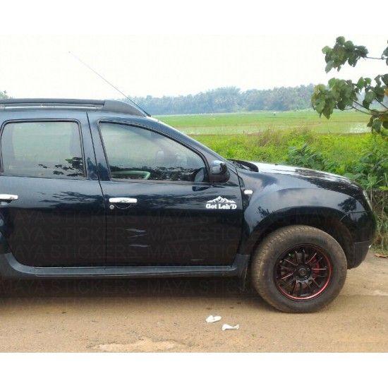 STICKER 4WD autocollant DACIA DUSTER SANDERO adhesif tuning rallye auto 4x4