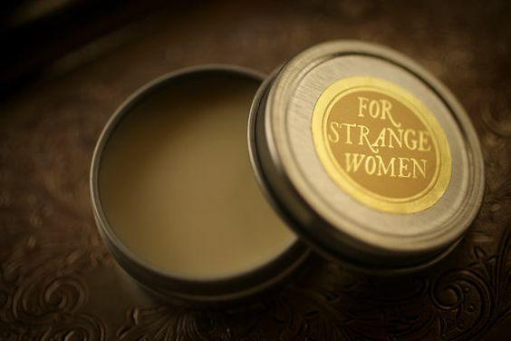 Perfume Enhancing Fixative base™ - bálsamo de cera de abejas, salve a usar debajo de aceite del perfume natural - producto original para mujeres extrañas