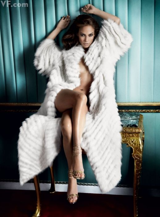 Jennifer Lopez, photographed by Mario Testino. Styled by Jessica Diehl.
