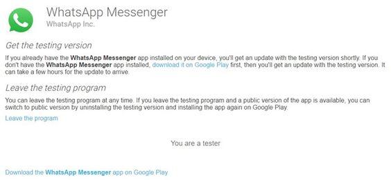 WhatsApp Beta download - Baixaki
