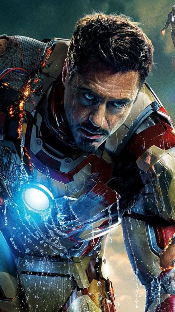 Absolutely perfect Iron Man. Was never much of a fan of the comic character until Robert Downey Jnr breathed new life into him.