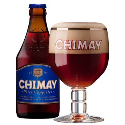 Bia Chimay Xanh Quà Tặng 9% – Xách 4 Chai – Tặng 1 Ly - Bia Nhập Khẩu