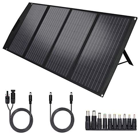 Twelseavan 120w Portable Foldable Solar Panel Charger For Jackery Explorer 160 240 500 Power In 2020 Solar Panel Charger Solar Generator Jackery