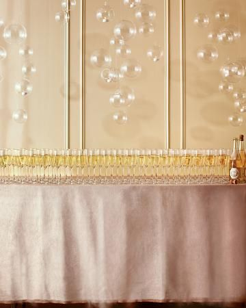 Champagne display