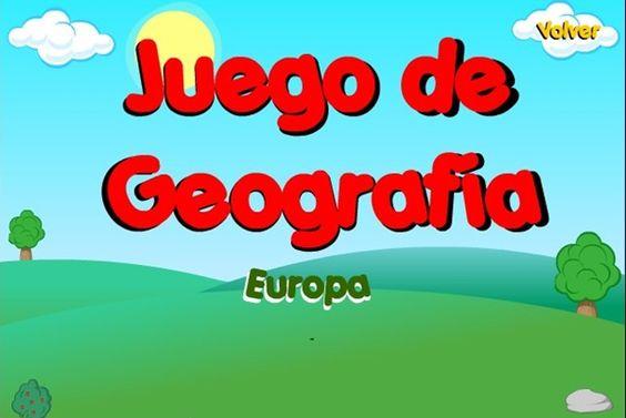 Juego de Geografa Europa de la Junta de Castilla y Len
