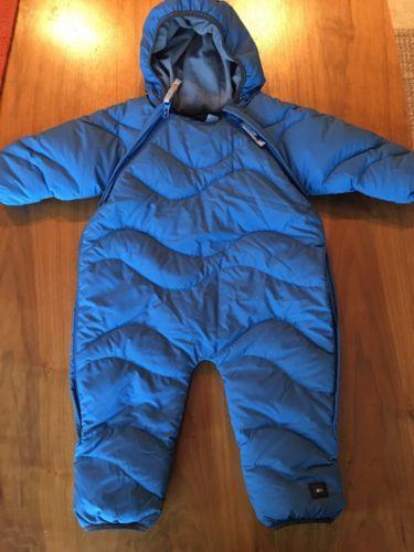 REI BABY BUNTING Down Onesie Warm One 12 Months Snowsuit Winter Hood Zip BLUE  https://t.co/tEwcTvl6Ts https://t.co/KWiBdAASso