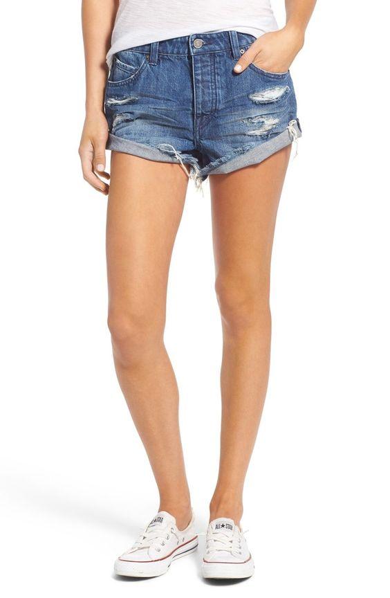 Women's Volcom Distressed Denim Shorts | Shorts, The o'jays and ...