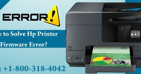How To Solve Hp Printer Firmware Error With Images Hp Printer