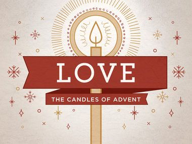 """""""Advent Candles - Love"""" is a Title Still containing a Title Layout and two unique Content Layouts. Download Jpegs in both 16:9 (widescreen) and 4:3 (standard) format or PowerPoint presentations ready for your bullet points. Take full creative control and download the layered Photoshop file (PSD)."""