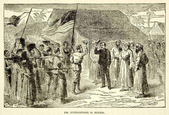 David Livingstone 1883, we used to live near Ujiji where Stanley - mr livingstone i presume