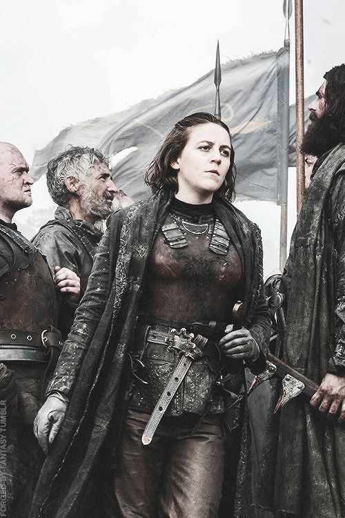 """Yara Greyjoy - """"She's commanded men. She's killed men. And she knows who she is."""" Game of Thrones"""