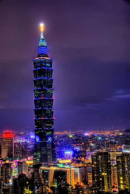 Taipei 101, Taiwan - was the tallest building in the world during my visit in '04.