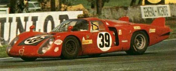 1968 Alfa Romeo T 33 B/2  Alfa Romeo (1.996 cc.)   Ignazio Giunti  Nanni Galli