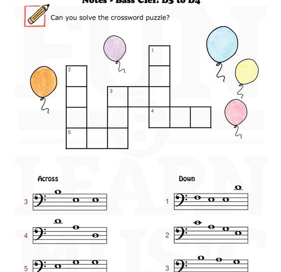 music notes worksheets for kids | Free Music Worksheets Blog ...