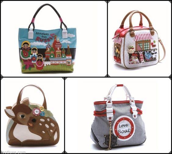 Braccialini Spring Summer 2012 Handbags Collection