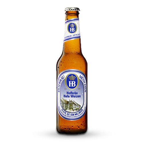 Bia Hofbräu Hefe Weizen 5.1% - Chai 330ml - Bia Đức Nhập Khẩu TPHCM