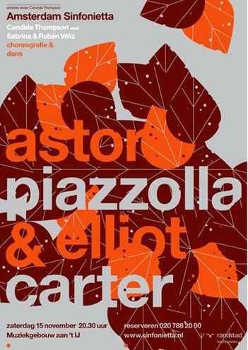 Autumnal.: Design Inspiration, Graphic Design, Poster Design, Sinfonietta Posters, Graphic Stuff