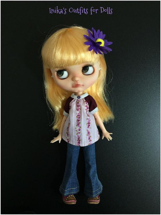 Dress for Blythe Doll Handmade