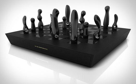 Jogo de Xadrez  Kiki De Montparnasse Chess Set