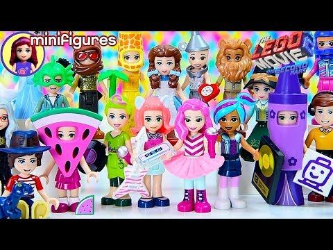 Lego Movie 2 Minifigures Complete Set Dress Up With Disney Princesses And Lego Friends Youtube Lego Friends Lego Movie Lego Disney Princess