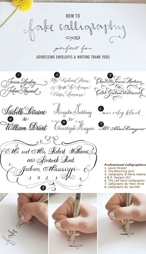 Fake Calligraphy Calligraphy And Lettering On Pinterest