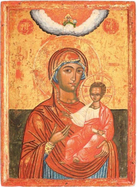 Icon of the Hodegetria Mother of God, Wallachia