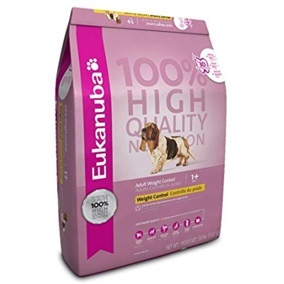 Eukanuba Adult Weight Control Formula Dry Dog Food You Can Read