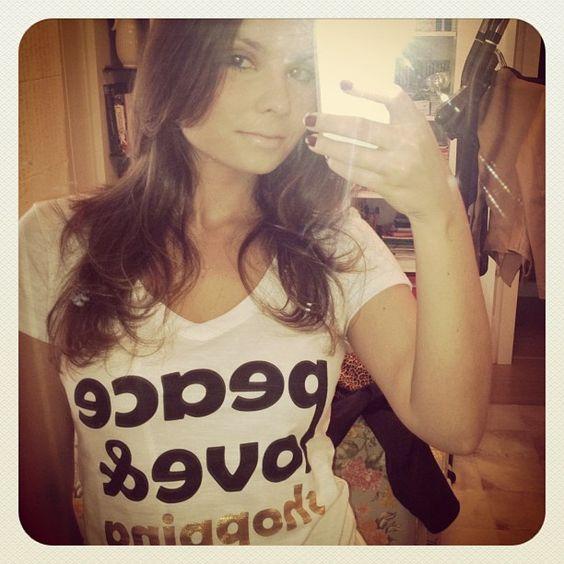 Luisa Malta com #tee da Marché Lapin <3