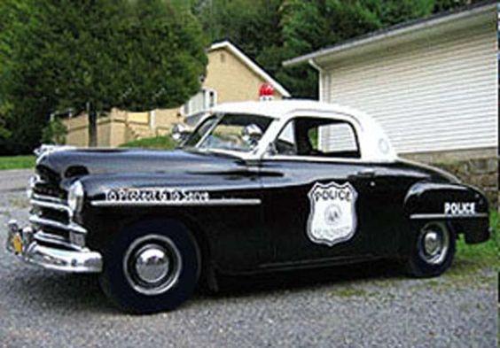 Plymouth Police Car 1950:
