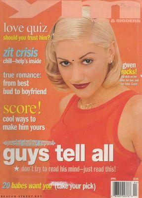 Gwen Stefani - YM - April 1997: