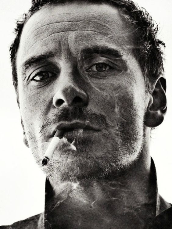 Michael Fassbender / Actor / Black and White Photography