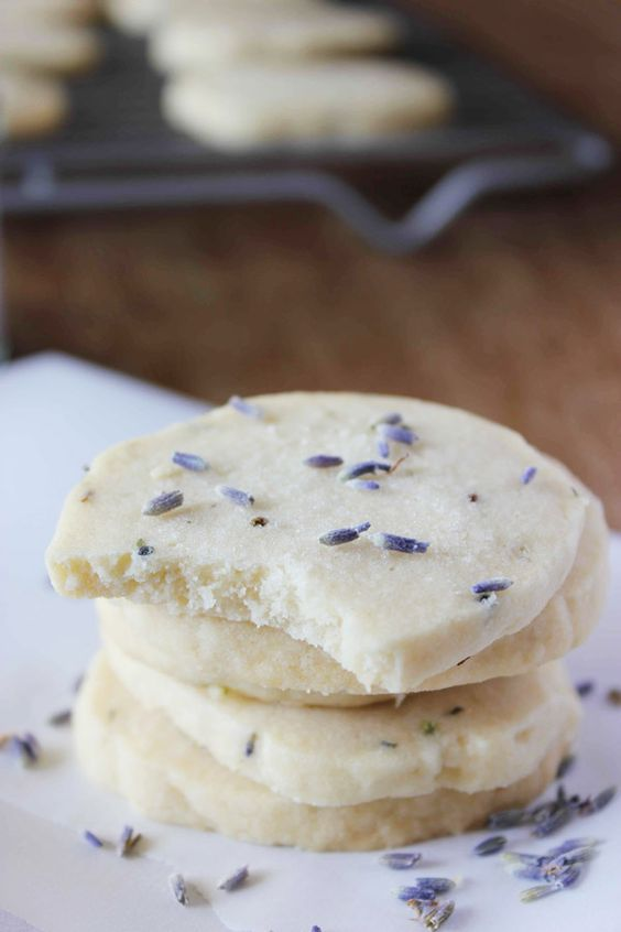 Lavender Shortbread - a simple and elegant dessert