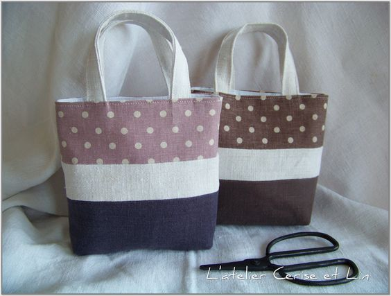 Tuto sac and fils on pinterest - Idee de couture ...