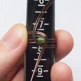 Проводная Дерево: Кольцо из бисера Tutorial- Обернуто камень кольцо