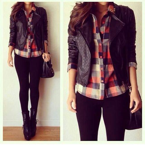 camisa con leggins
