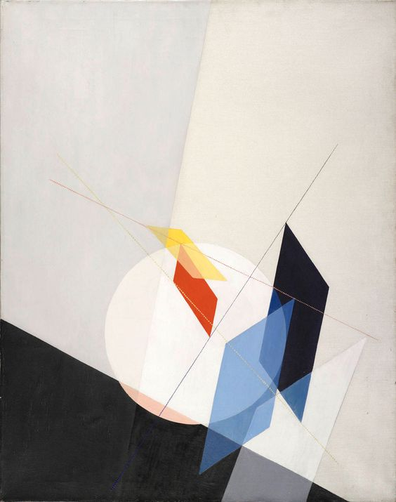 A 18 by László Moholy-Nagy. There's a spirituality about the subject that is almost opposite. LOVE IT!