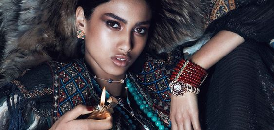 opium du style: imaan hammam by lachlan bailey for vogue paris august 2014