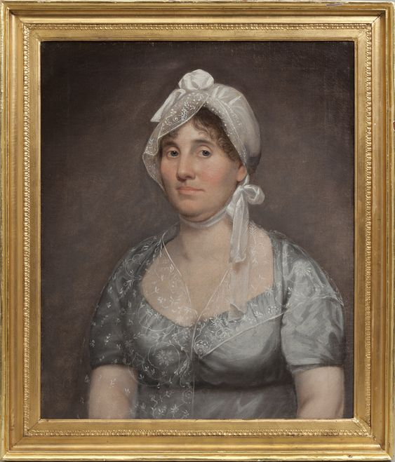 Portrait of Mary Scott by Cephas Thompson, Alexandria, Circa 1809 (photo by Christopher H. Jones Auction House)