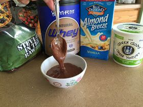 Diary of a Fit Mommy: Fudgy Protein Whip Recipe