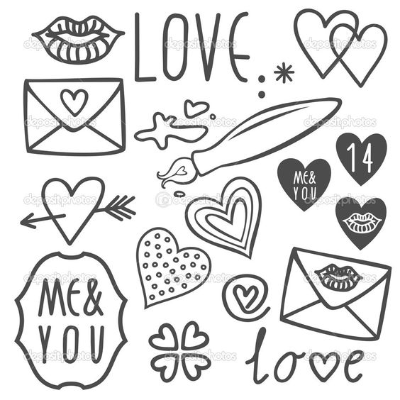 Cute Doodles To Draw For Your Girlfriend Pinterest • The worl...