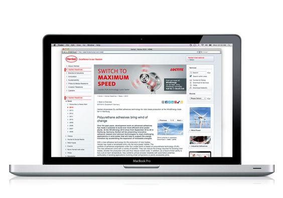 #Kampagne #Henkel #Loctite #WindEnergy #Websitebanner