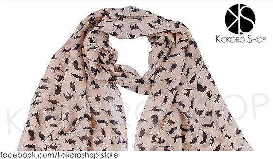 FOULARD KITTEN (varios tonos) - REF: #00/1002 Síguenos en Instagram: @kokoro_shop_ig Para pedidos o consultas, contactar mediante Facebook:  https://www.facebook.com/kokoroshop.store/  Muchas Gracias     #moda #modamujer #complementos #cats  #woman #girls #verano #summer #summertime #cute #lovely #shopping #tiendas #compras #chicas #outfit