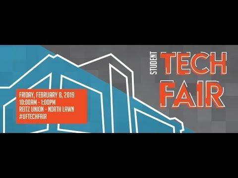 Hey Gators This Year S Student Tech Fair Will Be Friday February 8th Under The Reitz Union Breezeway From 10 Am To 1 Pm Particip Learning Spaces Tech Fair
