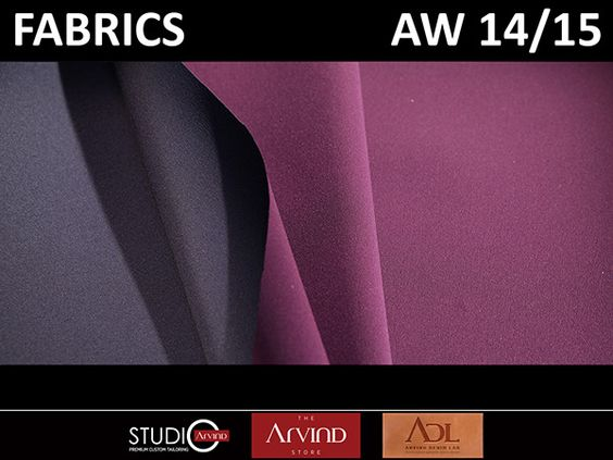 FABRIC TREND - AUTUMN WINTER 2014/15 FOR MEN'S WEAR