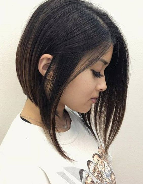 Delightful Long Bob Haircuts Style For 2020 Stylesmod In 2020 Girls Short Haircuts Hair Styles Angled Bob Haircuts