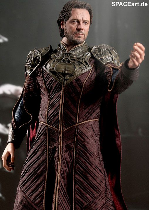Man of Steel: Jor-El (Russel Crowe) - Deluxe Figur, Fertig-Modell, http://spaceart.de/produkte/sm006.php