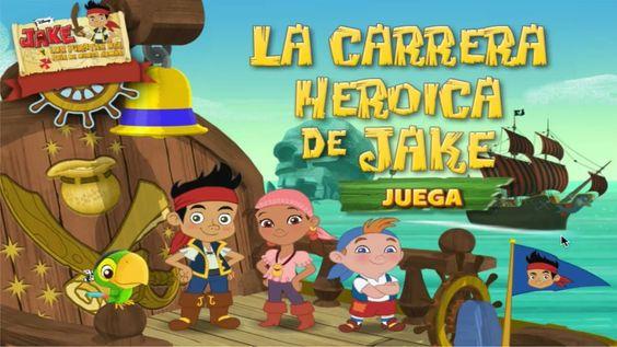 JAKE y los Piratas de Nunca Jamas - La carrera Heroica de Jake - SUSCRIBETE / SUBSCRIBE https://www.youtube.com/user/DISNEYWORLDES