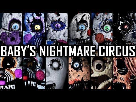 Baby S Nightmare Circus All Jumpscares Complete Youtube Nightmare Circus Fnaf