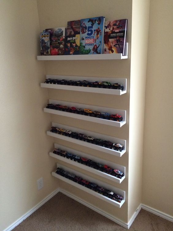 Book Shelf/Monster Truck shelf   My Projects   Pinterest ...